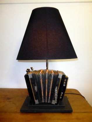 Picture of Accordion Table Lamp