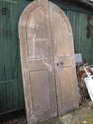 Picture of Pair of Arched Doors