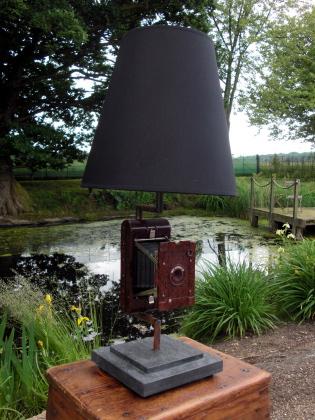 Bakelite Camera Lamp