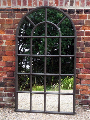 Picture of Med/ Lg cast iron window mirror