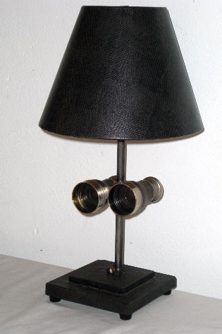 Picture of Old Binocular Table Lamp
