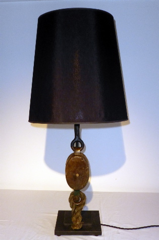 Picture of Wooden Block Lamp