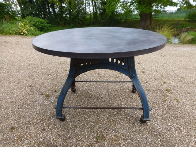 Picture of Blue Bamfords milling table