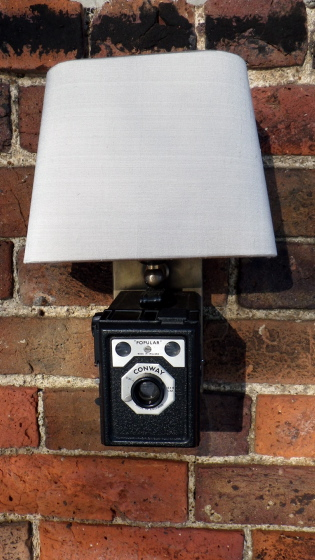 Boxie Brownie Wall Sconce
