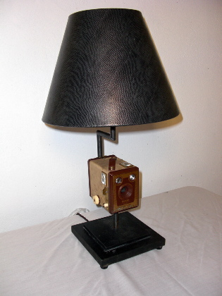 Picture of Box Brownie Camera Lamp