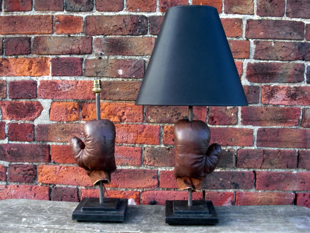 Picture of Boxing Glove Table Lamps