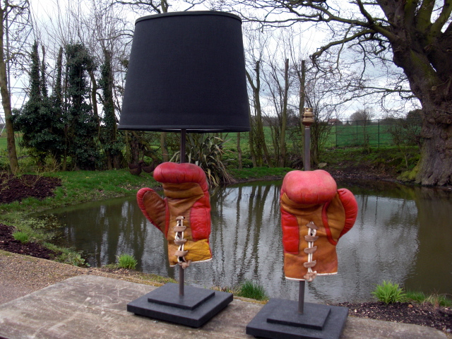 Picture of Boxing Glove Lamps