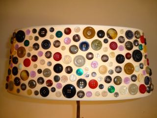 Oval button shade
