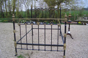 Picture of Victorian Iron Bed