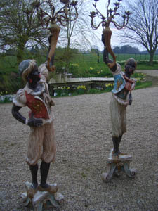 Picture of Pair of Italian Blackamoor Torchers