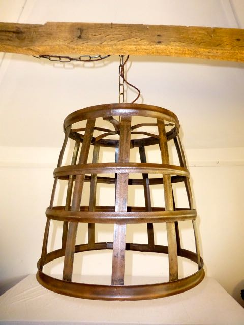Cage pendant light x 3