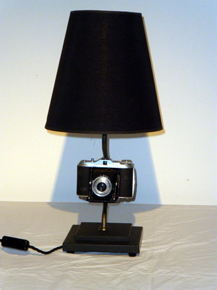 Picture of Folding Concertina Camera Lamp