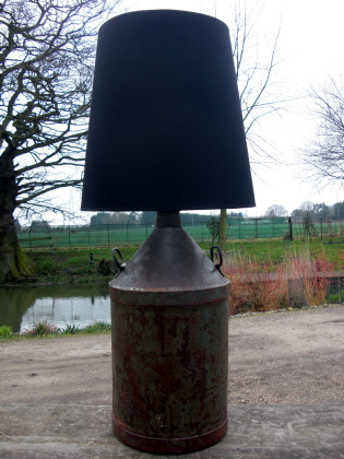 Picture of Old Paraffin Can Lamp