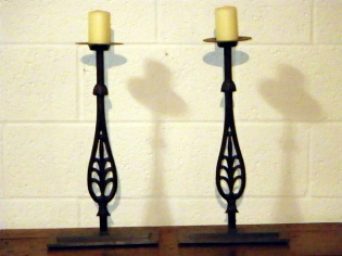 Balustrade Candle Sticks