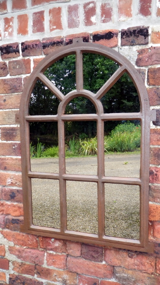 Picture of Cast iron standard window mirror