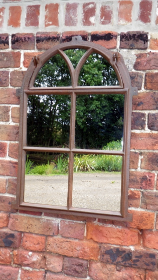 Picture of Cast iron mirror window