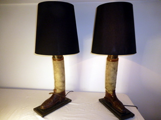 Picture of 1st World War Cavalry Officer's Boots Lamps