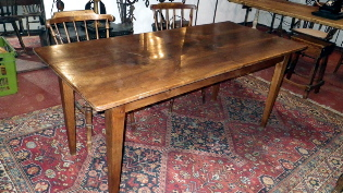 Picture of French Chery wood farm house table
