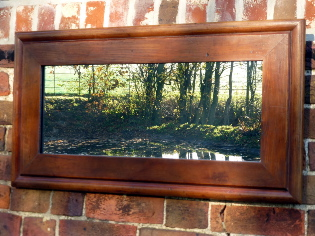 Picture of Church pew mirror