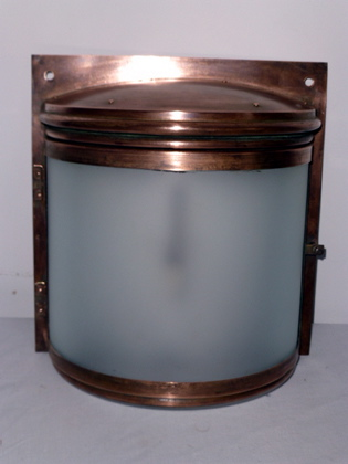 Picture of 4 Copper Wall Lights