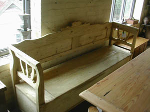 Picture of Pine Bench