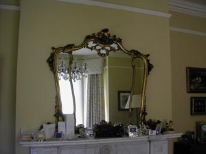 Picture of Victorian overmantel mirror