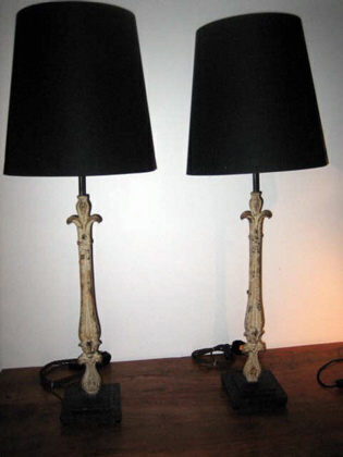 Picture of Pair of elegent table lamps