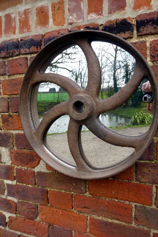Picture of Farm machinery fly wheel