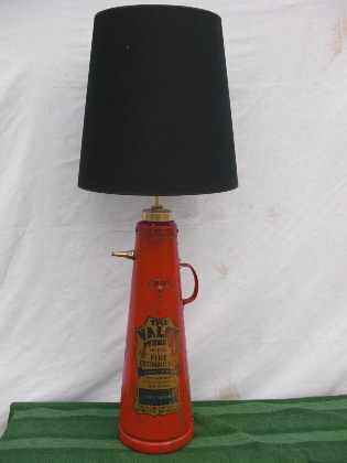 Picture of Old Fire extinguisher lamp
