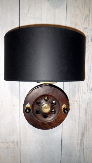 Picture of Fishing Reel Wall Sconce