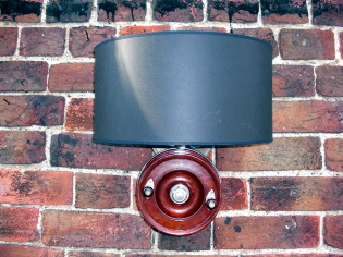 Fishing Reel Wall Light