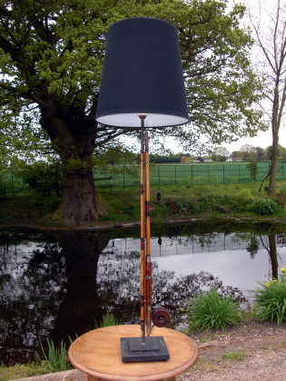 Picture of Fishing Rod Lamp