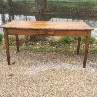 Picture of French cherry wood table