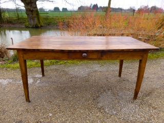 Picture of French oak table