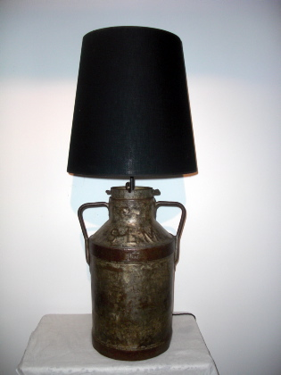Picture of French Milk Churn Lamp