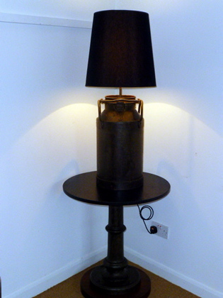 Picture of Medium Size French Milk Churn Table Lamp