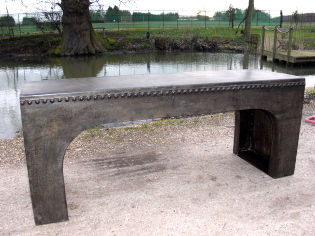 Picture of Galvanised Water Tank Bench