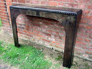 Picture of Pair of Galvanised Console Tables
