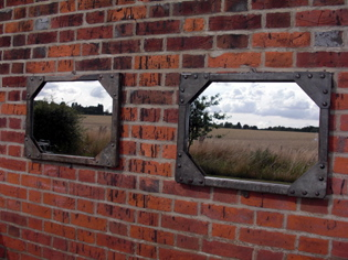Picture of Pair of Galvanised tank windows