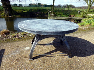 Picture of Bamfords Galv Table