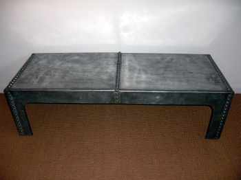 Picture of Polished water tank table