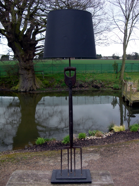 Picture of Garden Fork Standard Lamp