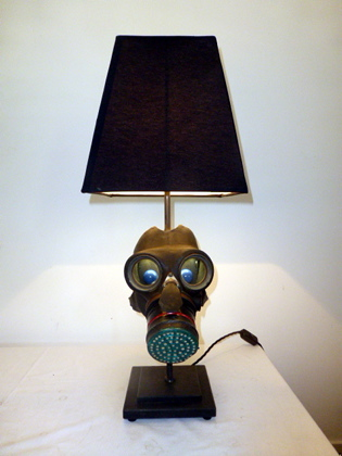 Picture of Gas Mask Lamp