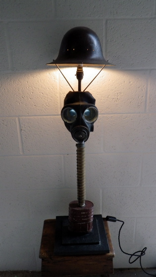 Picture of Gas Mask Helmet Lamp