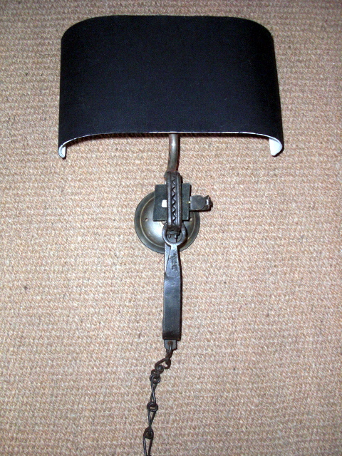 Picture of English Gin Trap Wall Light