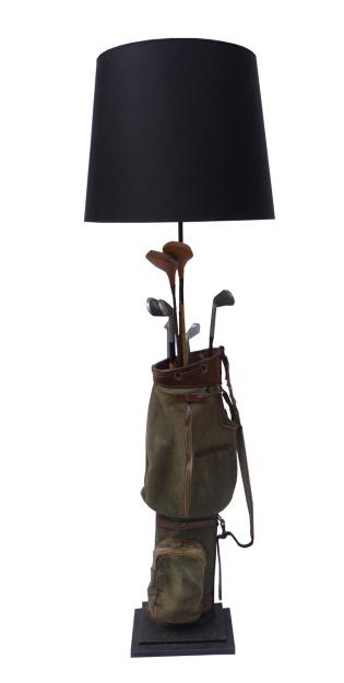 Golf Bag Standard Lamp
