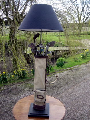 Picture of Golf bag standard lamp