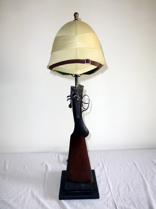 Picture of Pith Helmet Shotgun Lamp