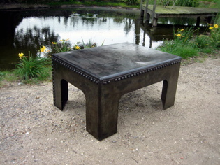 Galvanised Tank Coffee Table