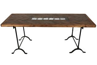 Parquet Floor Table